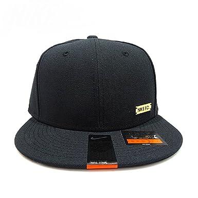 6010194fc80 ... coupon for nike f.c. true snapback hat cap black trendy gold logo  unisex 805282 010 2d239