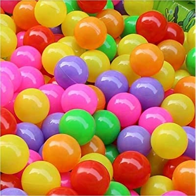 Kekailu Ocean Balls,50 Pcs Baby Colorful Soft Plastic Water Pool Ocean Wave Ball Outdoor Funny Toys,4 cm: Home & Kitchen [5Bkhe0307049]