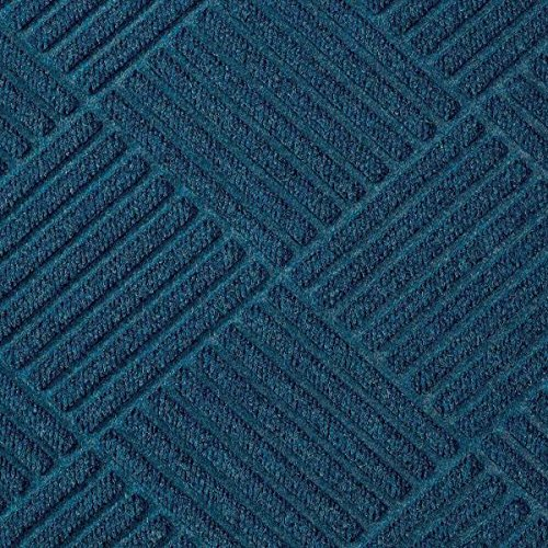 American Floor Mats Waterhog Premier Fashion Navy 2' x 3' Entrance Mat - Gripper Back, Fabric Border ()