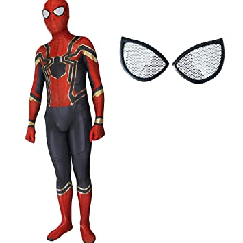 GBRALX Traje de Spiderman Adulto Homecoming Cosplay Traje ...