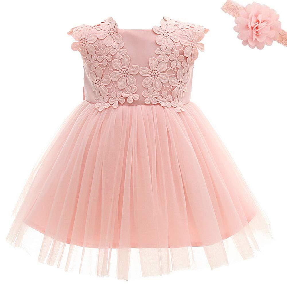 Baby Girl Dress Princess Wedding Birthday Baptism Dress