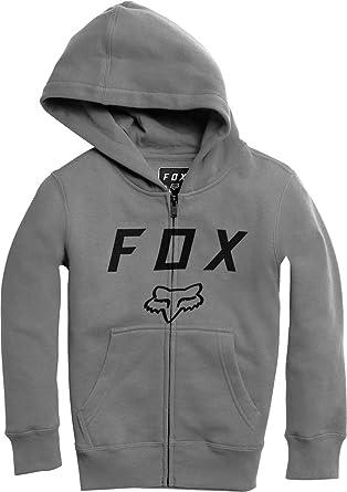 Fox Racing Legacy Foxhead Mens Zip Up Hoody Heather Graphite