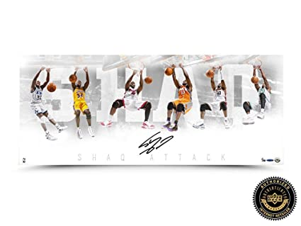 527d5e223d9 Shaquille O Neal Autographed Signed
