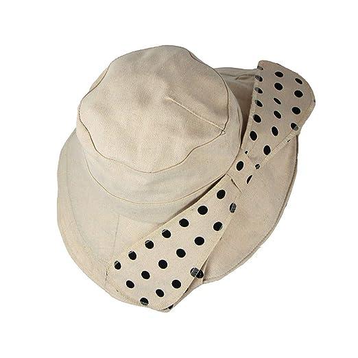 69763dc98 YFancy Women Fisherman Hat Spring Summer Hat Foldable Wide Brim Big ...