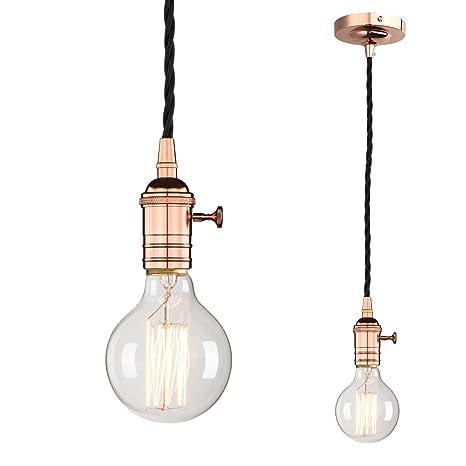 Amazon.com: Phansthy - Lámpara de techo con colgante ...