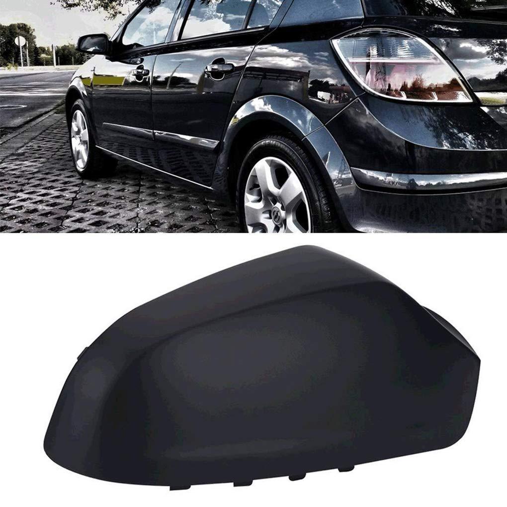 Lorsoul 1 par Derecho y del Lado Izquierdo retrovisor Retrovisor Cubre Tapas de la Carcasa de protecci/ón de la Carcasa para Opel Astra 2004-2008