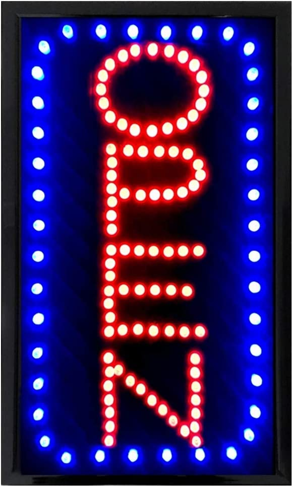 Led Open Sign Business Lighted Signs Bars Resturatant