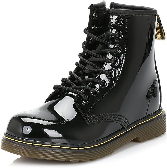 Dr Martens Delaney Lace Boot Patent - 2