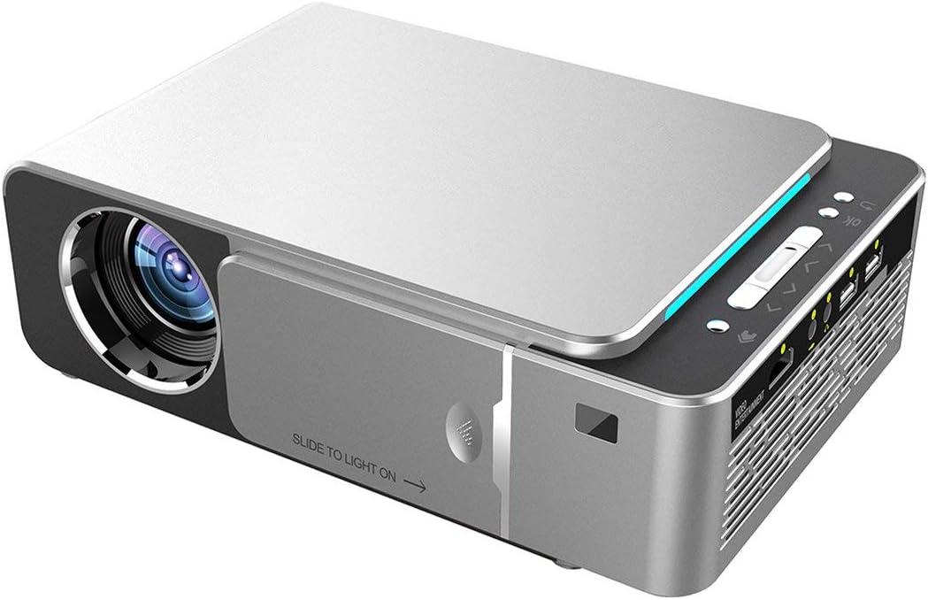 Proyector HD portátil T6 con función en Pantalla WiFi Mirroring ...
