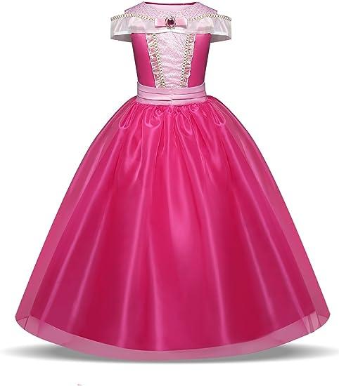 Disfraz de Princesa Aurora Vestido, Traje de Bella Durmiente para ...