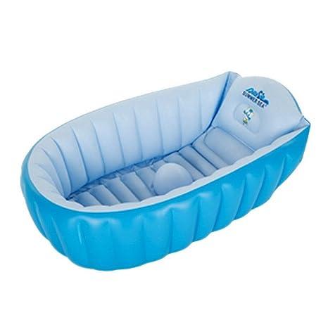 AOOPOO Baby bañera Hinchable planschbecken Antideslizante ...