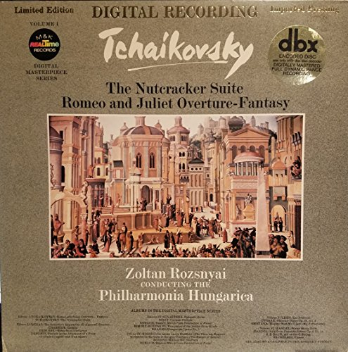 Tchaikovsky the Nutcracker Suite, Romeo and Juliet Overture-fantasy Import Pressing Lp Limited Edition First Release