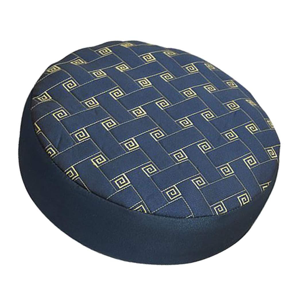 30 cm Fenteer Fodera Sgabello Coprisedile Morbido da Bar Manico Cover Decorazioni per Interni Blu