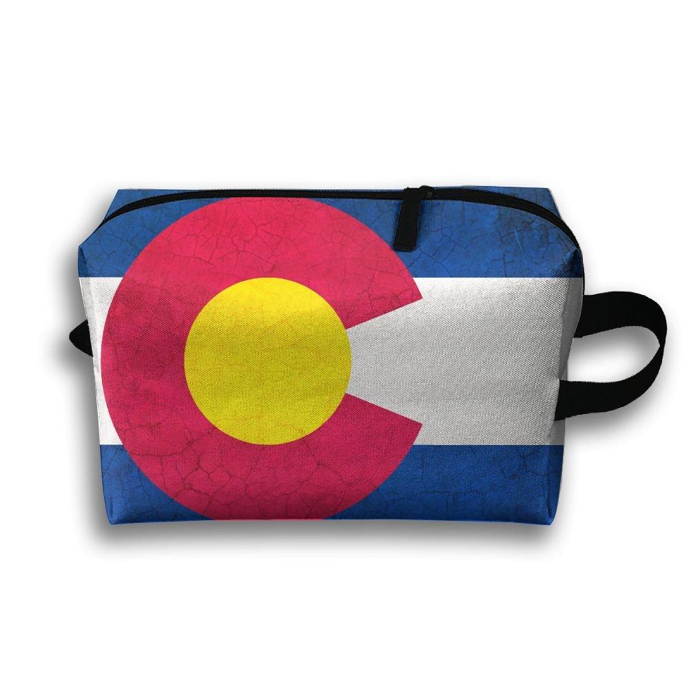 高い品質 ztrb Bag Flag Colorado Flag Crackポータブルmake-upジッパーポーチBeautyコスメティックバッグキャリーケースブラシオーガナイザーToiletry Hangingストレージバッグ裁縫キットMedicine Bag B0785FPFHT B0785FPFHT, 蘭越町:ecae14a8 --- eastcoastaudiovisual.com