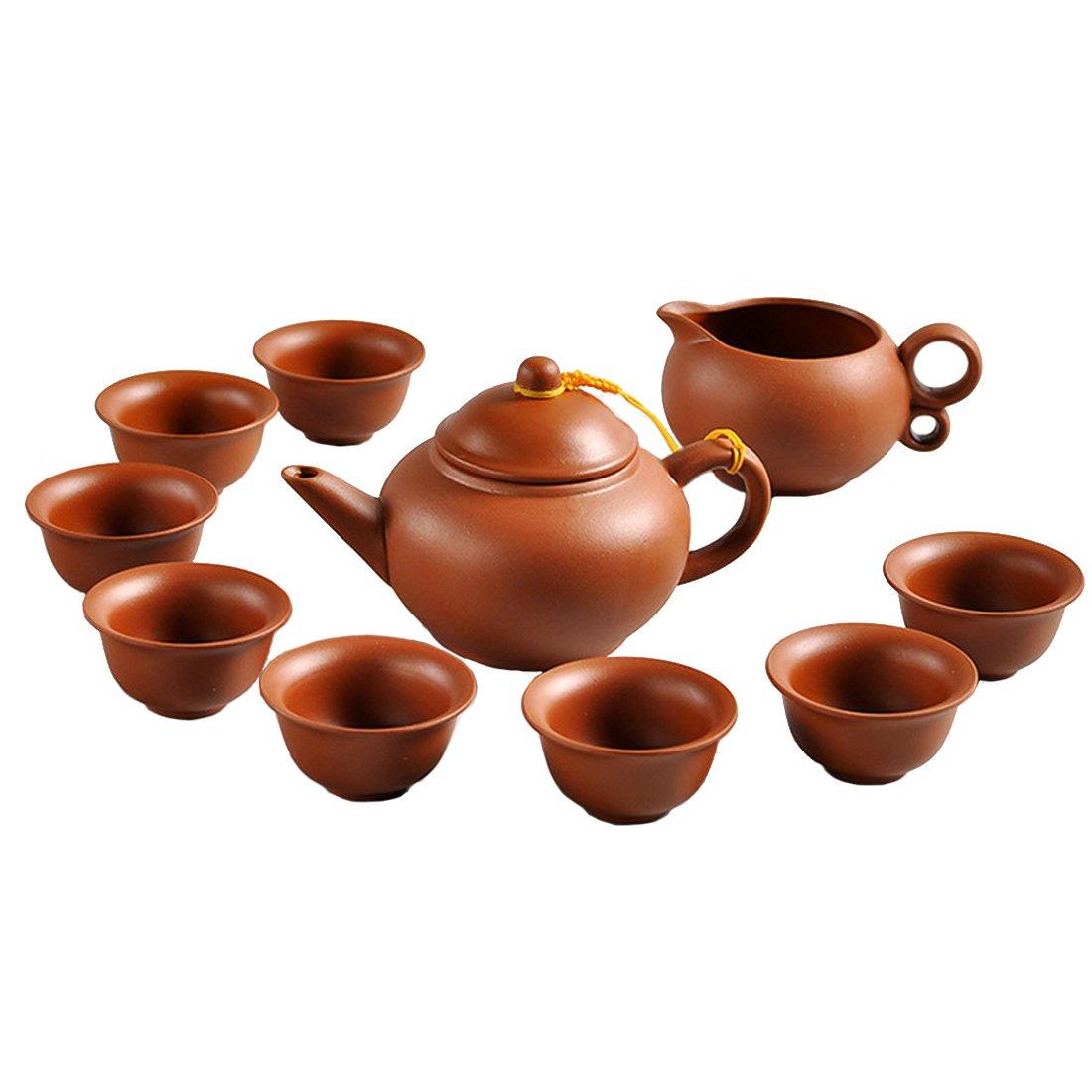 Teapot Tea Gift CHinese Zisha East Pot + Fair cup+ 8Cups