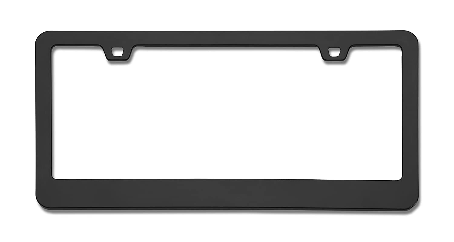 Amazon.com: Cruiser Accessories 15350 Neo Classic License Plate Frame, Black (Certified Refurbished): Automotive