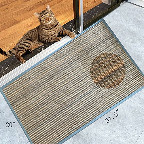 Sisal Mats (Diversity World Natural Sisal Cat Scratching Mat or Non-slip Floor Mat for In Front Door of or Outside The Door(20