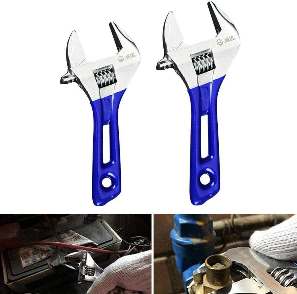 Mini Adjustable Mini Miniature Steel Spanner Wrench Household Hand Wrench Tools 4 inches