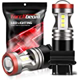 Torchbeam 3600 Lumens 3157 LED Light Bulb with Projector Error-free 3156 3057 3056 4157 Reverse Back Up Lights DRL Tail…