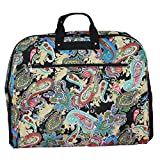 World Traveler 40-Inch Hanging Garment Bag, Multi Paisley