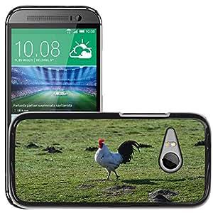 Super Stella Slim PC Hard Case Cover Skin Armor Shell Protection // M00147179 Hahn Animal Bird Gegl??gel Cockscomb // HTC One Mini 2 / M8 MINI / (Not Fits M8)