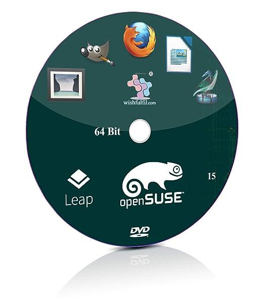 openSUSE 15 KDE, GNOME 64 Bit Bootable Installation DVD