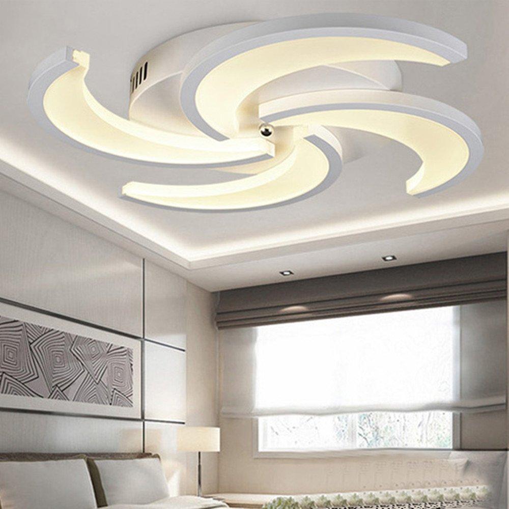 LED Technik Decke Wohnzimmerlampe, modern, einfach, kreativ ...