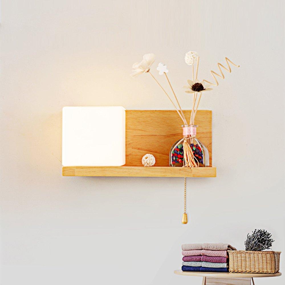 L/ámpara de pared LED decorativa E27, con interruptor Elinkume