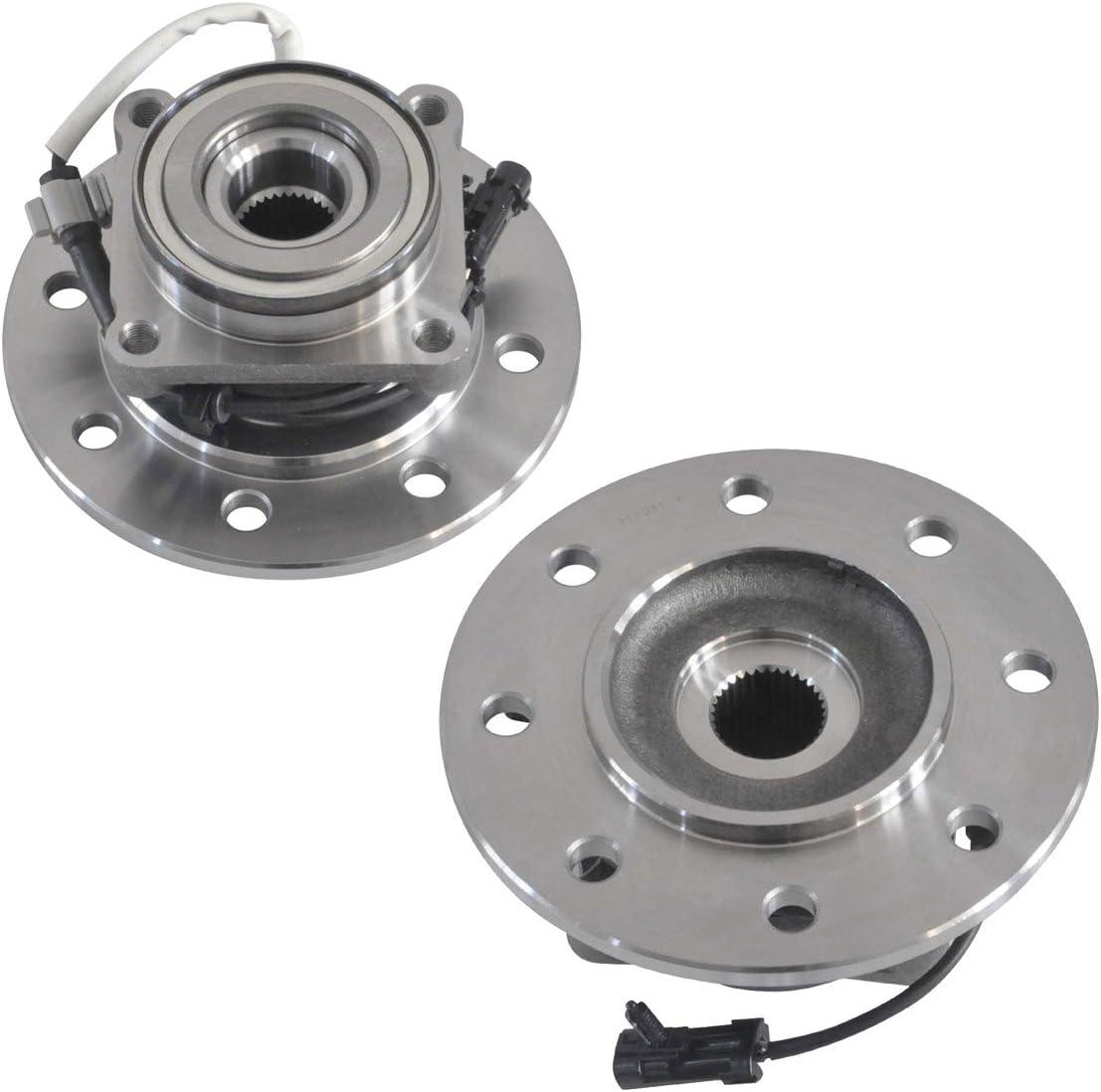2* Front Wheel Hub Bearing For Chevy GMC K2500 K3500 Suburban 4WD 8 Lugs 515041