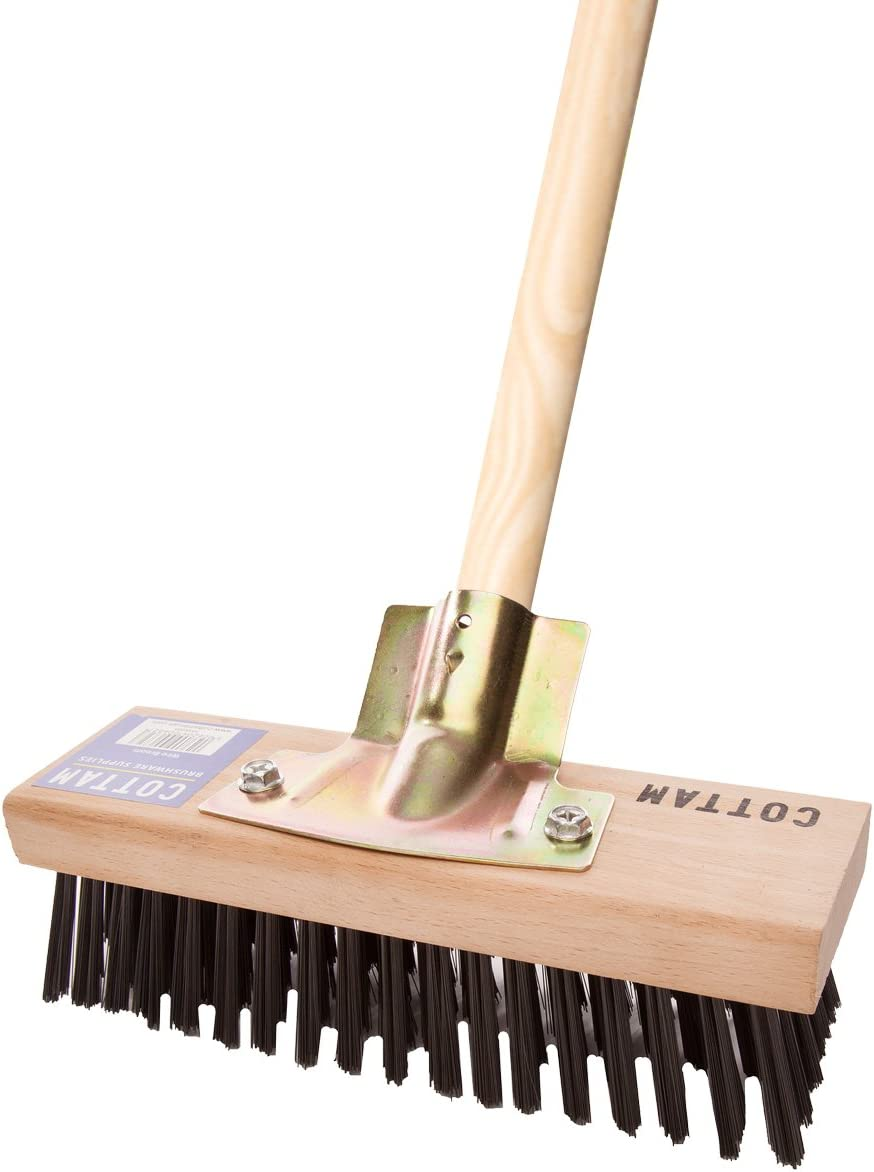 National Trust Wire Broom With Brass Wire 9