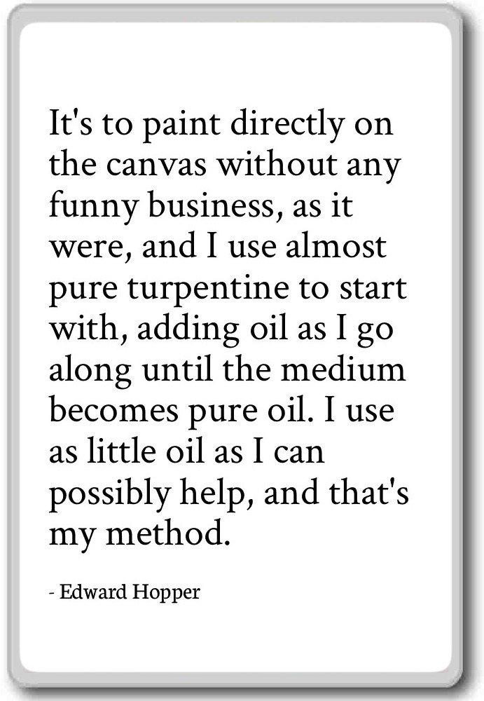Es para pintar directamente sobre el lienzo sin imán para nevera ...