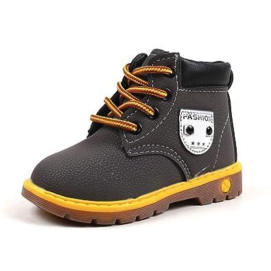 efb1dd8dd2e2e Unisexe Chaussures Premiers Pas Bottes De Neige Enfant Chaussure de Sport  Bottes Martin Tonsi