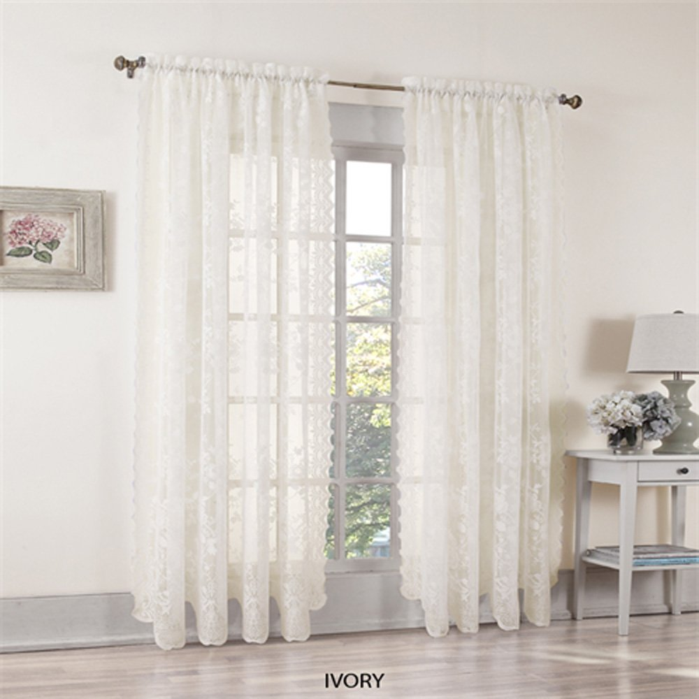 pole pictures attached inspirations antique curtainslace of with curtainworks top damask valance black curtain white com curtains size panel clearancelace stunning lace full traditional