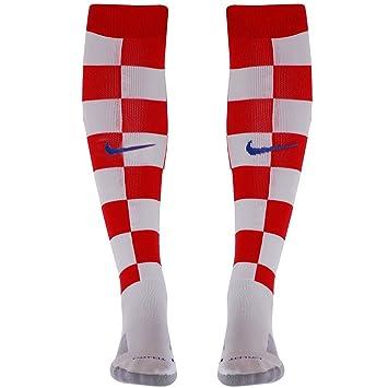 Nike CRO HM Stadium Sock - Calcetines de fútbol Unisex, Color Rojo/Blanco / Azul, Talla XS: Amazon.es: Deportes y aire libre