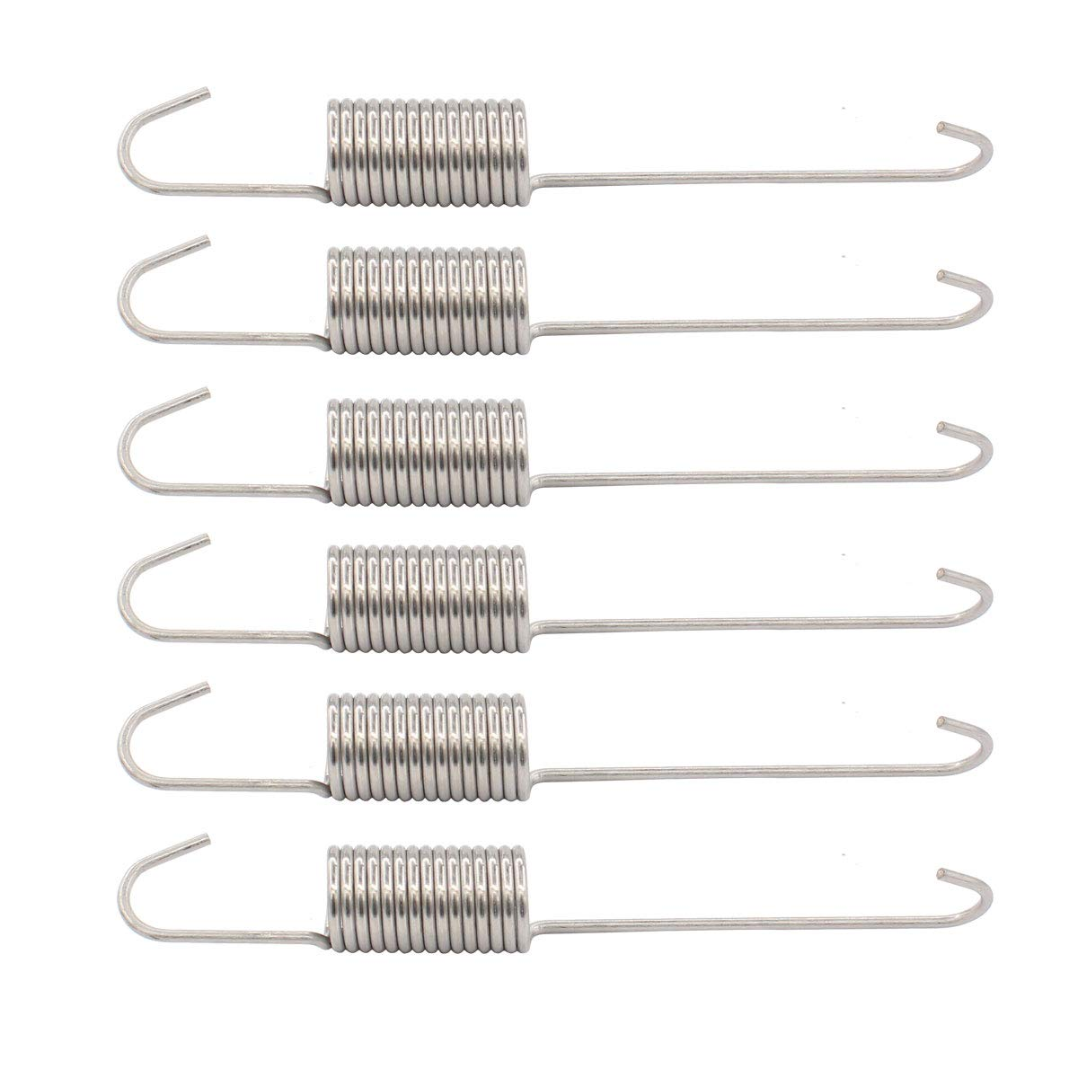 ApplianPar 6 Pack 12002773 WP21001598 Washer Suspension Spring Kit for Maytag Admiral Washing Machine
