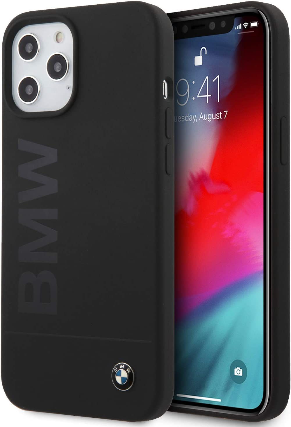 BMW Silicone iPhone 12 Pro Max Phone Case (6.7