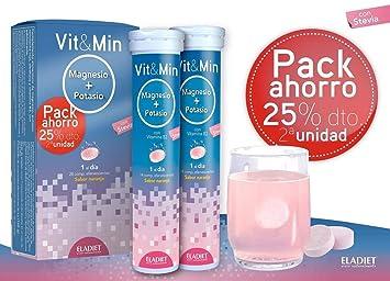 PACK AHORRO MAGNESIO + POTASIO ELADIET 2x14 comprimidos: Amazon.es: Salud y cuidado personal