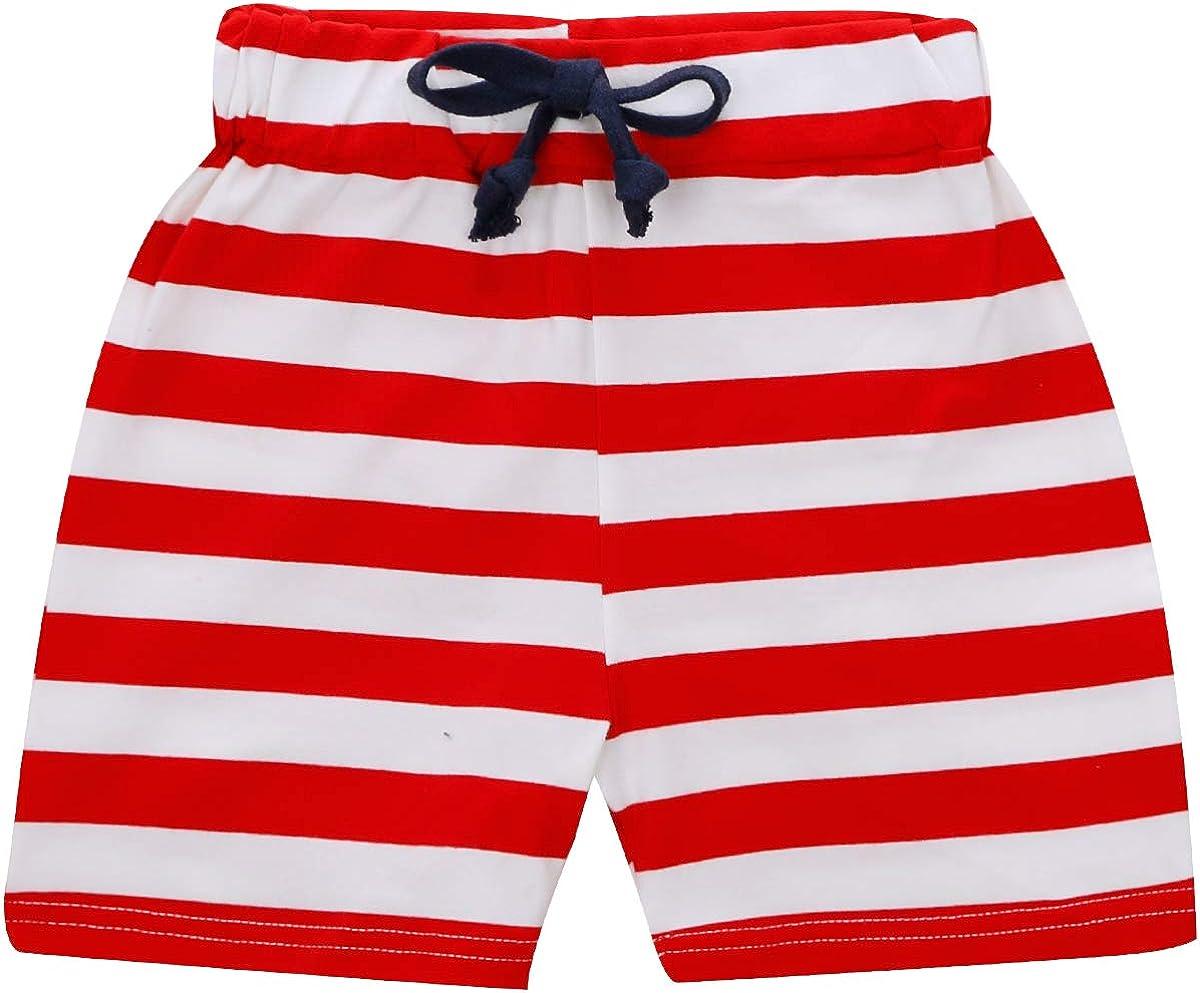 CARETOO novit/à Toddler Baby Boys Polo T-Shirt Stampata Tops Pantaloncini da Spiaggia Estivi 2 Pezzi 1-6 Anni Abiti Completi per Baby Boy