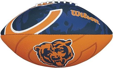 Wilson - Balón de fútbol americano juvenil con logo de los Chicago ...