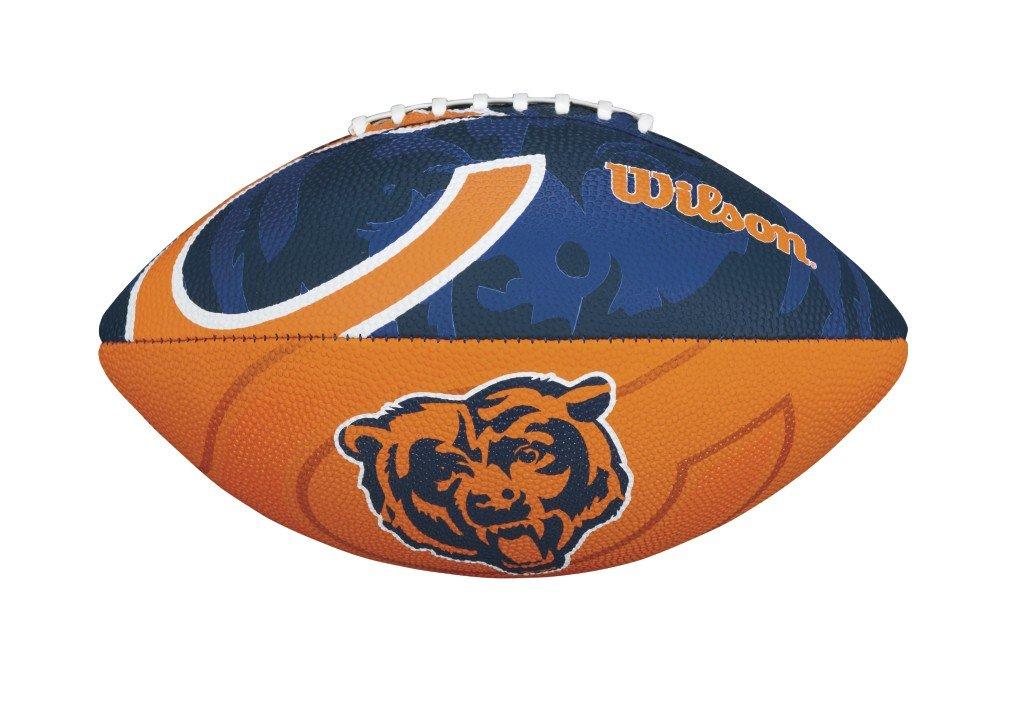 Wilson - Balón de fútbol americano juvenil con logo de los Chicago Bears: Amazon.es: Deportes y aire libre