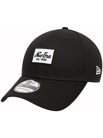 d02faf51a96 Cap Men New Era NE Seasonal Script Patch Cap  Amazon.co.uk  Clothing