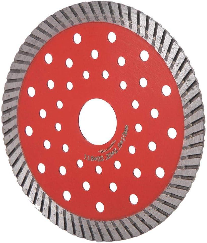 Hoja De Sierra Circular Piedra Cer/áMica M/áRmol Rueda De Corte Diamante Amoladora Angular Disco De Corte De Repuesto 115mm // 4.5inch
