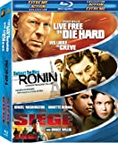 Extreme Action Collection (Live Free or Die Hard/Ronin/The Siege) [Blu-ray] (Bilingual)