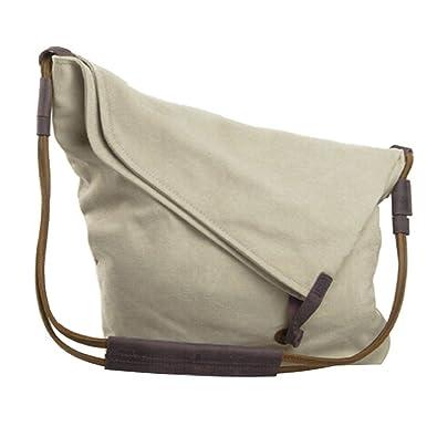 Topteck Oversized Retro Canvas Hobo Crossbody Satchel Bag Ladies ...