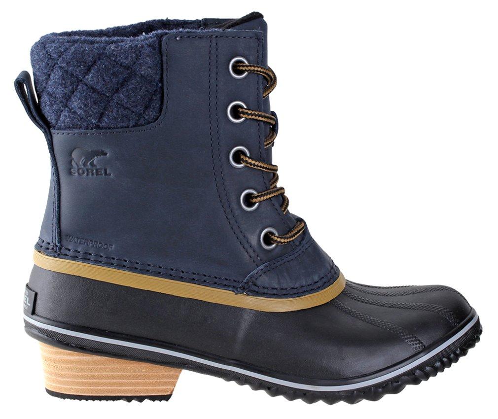 Sorel Slimpack II Lace Boot - Womens Collegiate Navy/Glare, 9.0