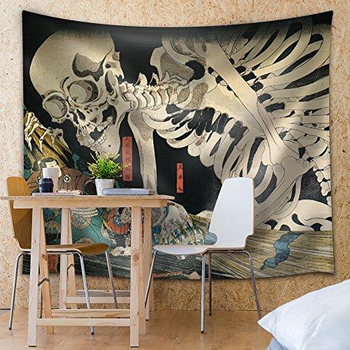 Utagawa Kuniyoshi Takiyasha the Witch and the Skeleton Spectre Ukiyo e