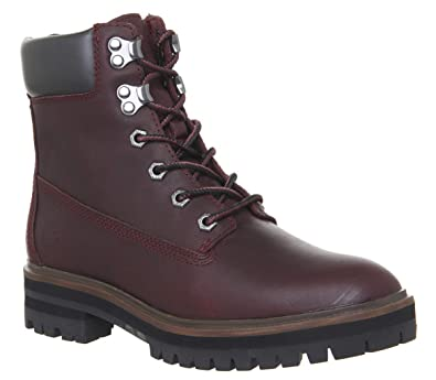 4a26e72e59d Timberland Femmes Bordeaux London Square 6 inch Bottes-UK 3.5