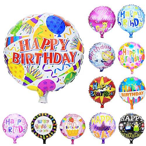 Helium Birthday Party Balloon (Zebratown 50pcs/lot 18