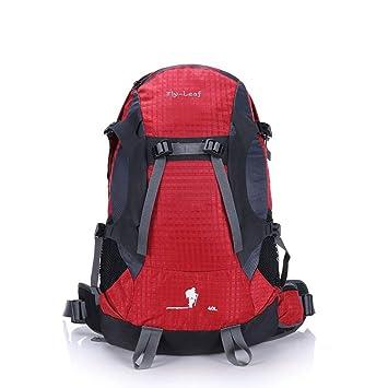 Uzanesx Mochilas Impermeables y Transpirables Multifuncionales Viajes de Gran Capacidad Caminando Escalada Salvaje Camping Ocio Deporte Hombros neutros ...