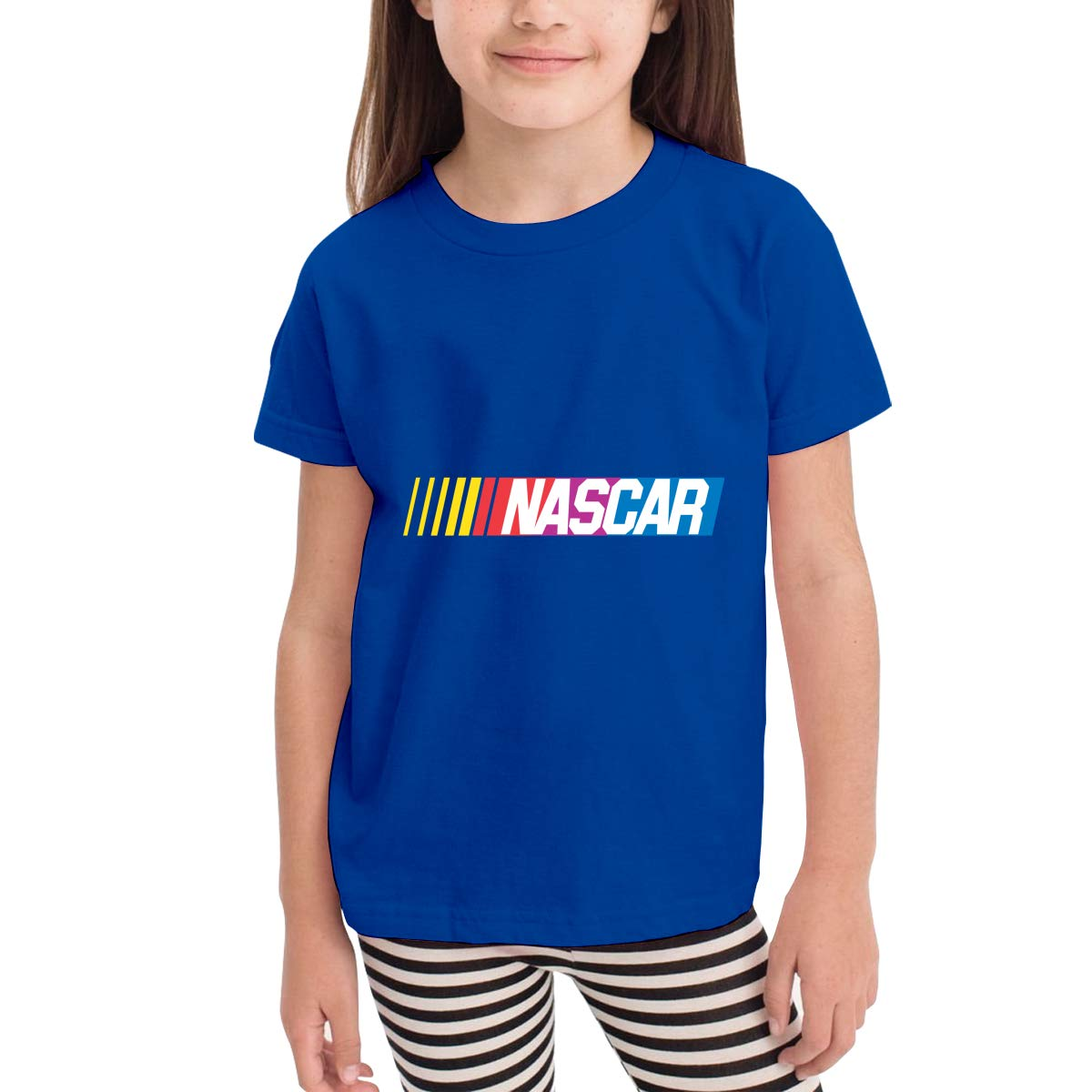 Kids Boys Girls Tee Shirts NASCAR Logo Shirt Toddler T-Shirt Short Sleeve Cotton Summer Clothes